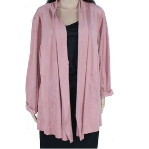Style & Co 3X Blush Cardigan Sweater BS36